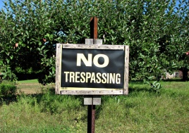 No_trespassing_by_Djuradj_Vujcic