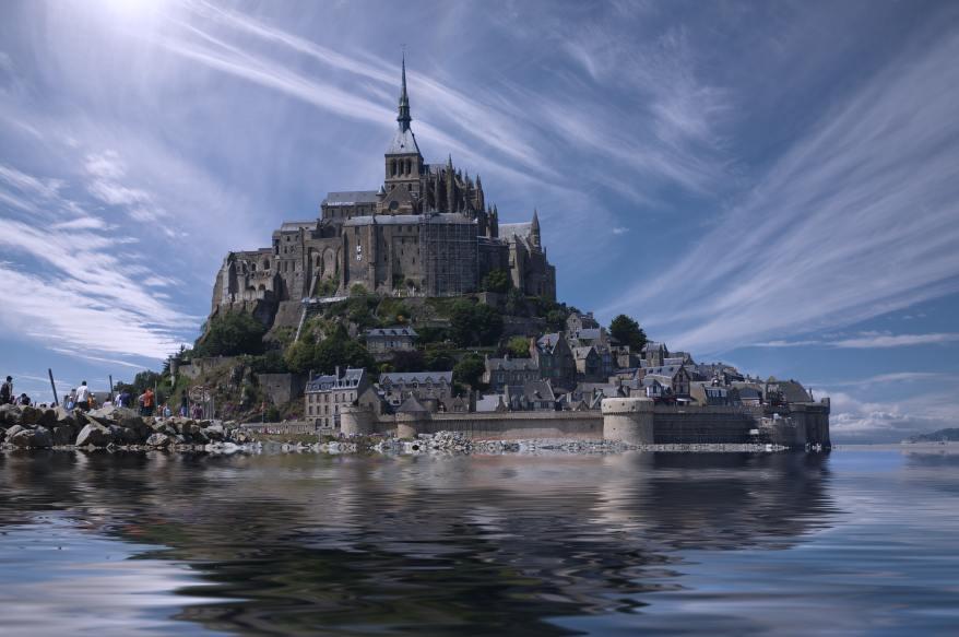france-landmark-water-clouds-34223